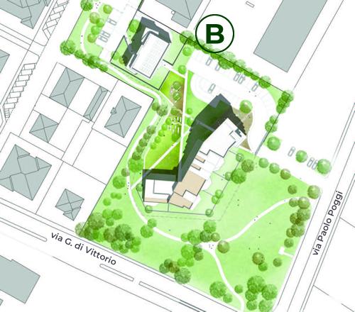 Mappa Fabbricato B Casa sull'Albero San Lazzaro di Savena Bologna